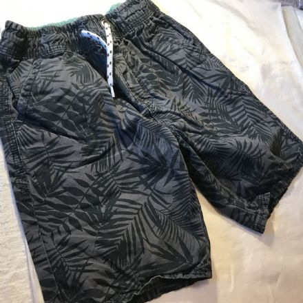 7-8 Year Leaf Print Shorts